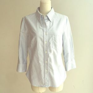 Boy. Band of Outsiders crop sleeve button up 4